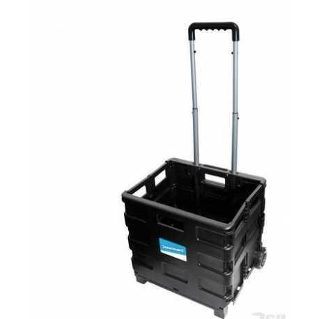 Carrello max 25 kg richiudibile pieghevole x spesa antiurto
