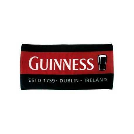 Tovaglietta tappetino da bar rosso e nero in spugna Birra Guinness 100%originale