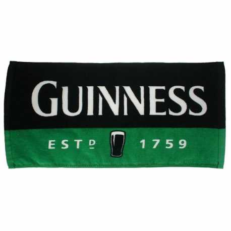 Tovaglietta tappetino da bar NERO VERDE in spugna Birra Guinness 100% originale