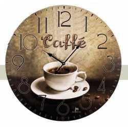 OROLOGIO DA PARETE MURO VINTAGE STILE CONTRY ANTICO CAFFE' COFFEE BAR DIA 60cm