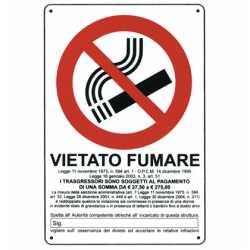CARTELLO VIETATO FUMARE 20x30