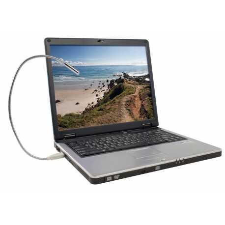 LAMPADA LUCE NOTTURNA USB PER NOTEBOOK NETBOOK PC COMPUTER