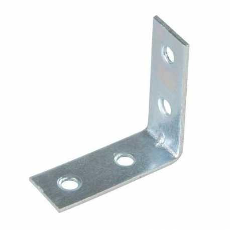 10 pz Piastra angolare 90° staffa metallica di ancoraggio fissaggio