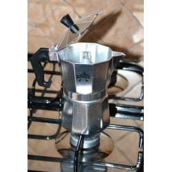 CAFFETTIERA MOKA CAFFE' SUPER 3 TAZZE + kit ricambio